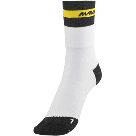 Mavic Ksyrium Elite Thermo Fietssokken wit